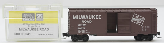 Consignment MT50000541 - Micro Trains 50000541 40 Standard Box Car of the Milwaukee Road – 30371