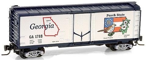 Consignment MT50200504 - Micro Trains 50200504 40 Standard Box Car Georgia State Car