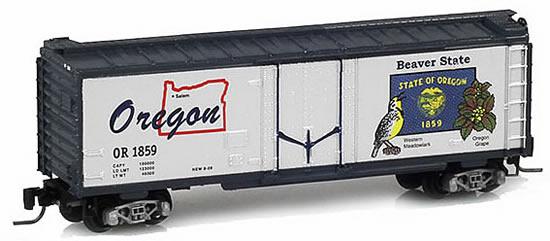Consignment MT50200514 - Micro Trains 50200514 40 Standard Box Car Oregon State Car