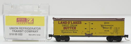 Consignment MT51800022 - Micro Trains 51800022 Box Car Union Refrigerator Transit Co. - 10134