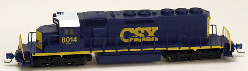 Consignment MT97001011 - Micro Trains 97001011 USA Diesel Locomotive SD40-2 of the CSX Transportation - 8014
