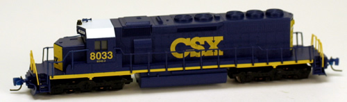 Consignment MT97001012 - Micro Trains 97001012 USA Diesel Locomotive SD40-2 of the CSX Transportation - 8033