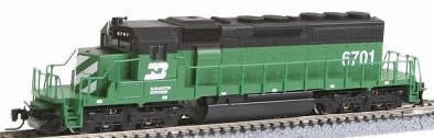 Consignment MT97001022 - Micro Trains 97001022 USA Diesel Locomotive SD40-2 of the BN - 6704