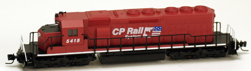 Consignment MT97001040 - Micro Trains 97001040 Canadian Diesel Locomotive SD40-2 of the CP - 5415