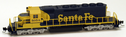 Consignment MT97001091 - Micro Trains 97001091 USA Diesel Locomotive SD40-2 of the AT&SF - 5054