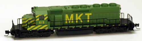 Consignment MT97001121 - Micro Trains 97001121 USA Diesel Locomotive SD40-2 of the MKT - 619