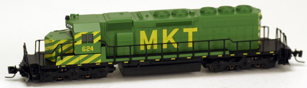 Consignment MT97001122 - Micro Trains 97001122 USA Diesel Locomotive SD40-2 of the MKT - 624
