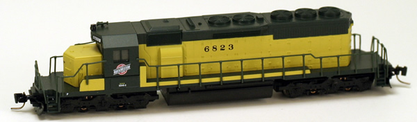 Consignment MT97001131 - Micro Trains 97001131 USA Diesel Locomotive SD40-2 of the Chicago & Northwestern- 6823