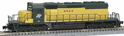 Consignment MT97001132 - Micro Trains 97001132 USA Diesel Locomotive SD40-2 of the Chicago & Northwestern- 6829