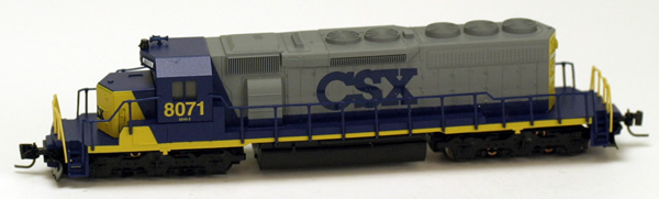 Consignment MT97001141 - Micro Trains 97001141 USA Diesel Locomotive SD40-2 of the CSX Transportation- 8071
