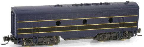 Consignment MT98012130 - Micro Trains 98012130 USA F7 Dummy B Unit of the B&O