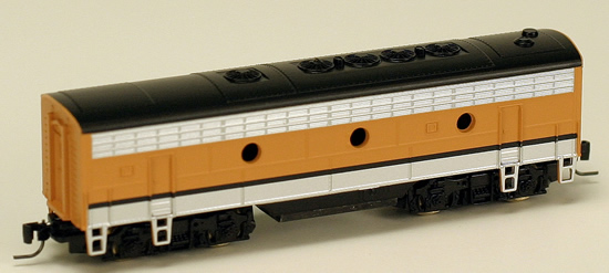 Consignment MT98012160 - Micro Trains 98012160 USA F7 Dummy B Unit of the D&RG