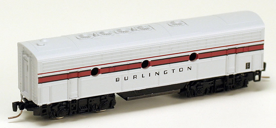 Consignment MT98012220 - Micro Trains 98012220 USA F7 Dummy B Unit of the Chicago, Burlington & Quincy