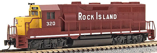 Consignment MT98101101 - Micro Trains 98101101 USA Diesel Locomotive GP35 of the Rock Island - 320