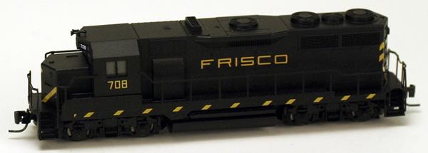 Consignment MT98101141 - Micro Trains 98101141 USA Diesel Locomotive GP35 of the Saint Louis San Francisco - 708