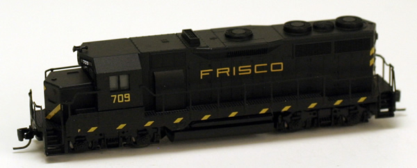 Consignment MT98101142 - Micro Trains 98101142 USA Diesel Locomotive GP35 of the Saint Louis San Francisco - 709
