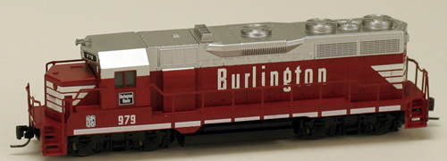 Consignment MT98101192 - Micro Trains 98101192 USA Diesel Locomotive GP35 of the Chicago, Burlington & Quincy - 979
