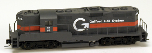 Consignment MT98201081 - Micro Trains 98201081 USA Diesel Locomotive GP9 of the Guilford Rail System – 52