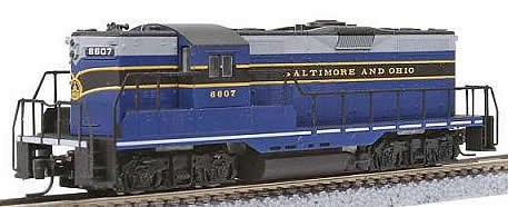 Consignment MT98201112 - Micro Trains 98201112 USA Diesel Locomotive GP9 of the B&O – 6607