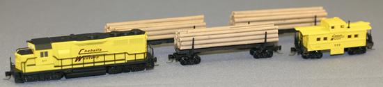 Consignment MT99401010 - Micro Trains 99401010 5pc Chehalis Western Log Car Train Set - Special Edition
