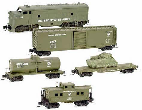 Consignment MT99401020 - Micro Trains 99401020 5pc US Army Train Set - Special Edition