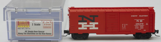 Consignment MTZ07-01 - Micro Trains 07-01 40 Box Car Along the Shoreline on the New Haven – 35177