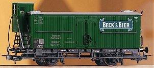 Consignment PI54217 - PIKO 54217 Beer Reefer Becks Bier