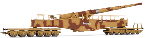 Consignment RIHR6113 - Rivarossi 6113 K5 Railway Gun in Camo