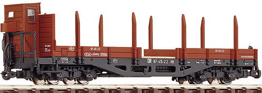Consignment RO34530 - Roco 34530 German Stake Wagon of the DR