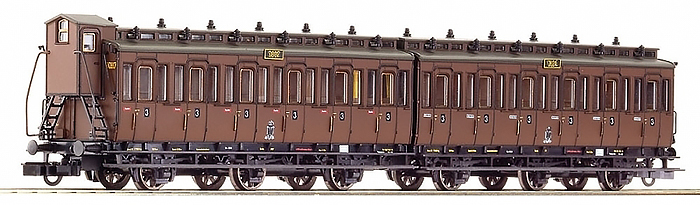 Consignment RO64068 - Roco 64068 Pair of Compartment Wagons 3rd Class