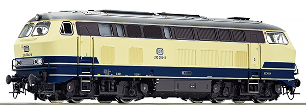 Consignment RO73737 - Roco 73737 - German Diesel Locomotive BR 210 of the DB (Sound)German Diesel Locomotive BR 210 of the DB (Sound)