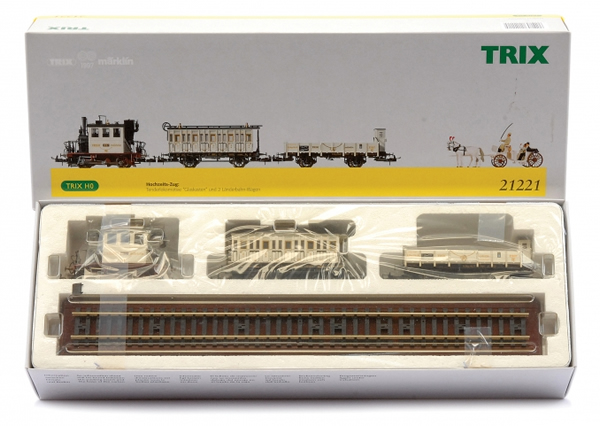 Consignment T21221 - Trix 21221 Wedding Train Set