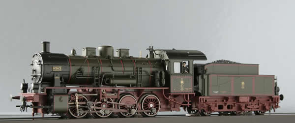 Consignment T22528 - Trix German Steam Locomotive BR55 G8.1 of the KPEV