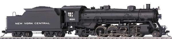Consignment T22801 - Trix 22801 USA Steam Locomotive RP 25 04 Light Mikado of the NYC