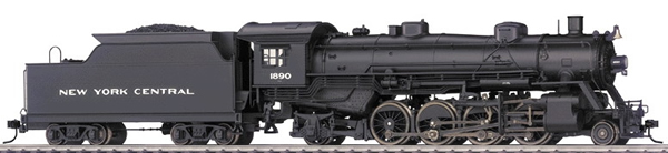 Consignment T22801 - Trix 22801 USA Steam Locomotive RP 25 04 Light Mikado of the NYC