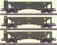 Consignment T23500 - Trix 23500 Coal Hopper 3 Car Set