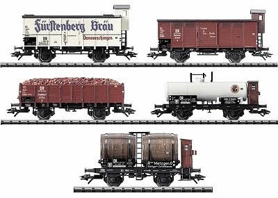 Consignment T23859 - Trix 23859 50 Years of Baden-Wurtteberg 5 Car Wagon Set