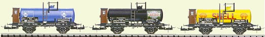 Consignment T23931 - Trix 23931 Tank Car Set