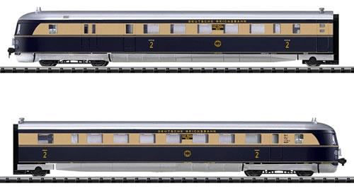 Consignment TR12437 - Trix 12437 - HAMBURG DIESEL POWER EXP RAIL CAR 04