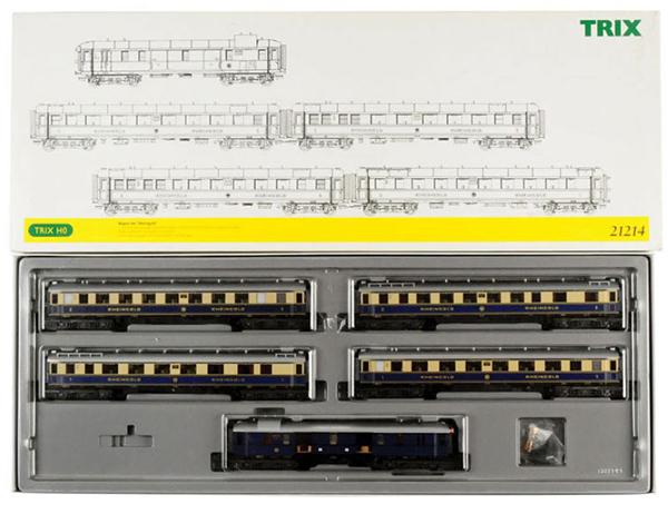 Consignment TR21214 - Rheingold Passenger Car Set