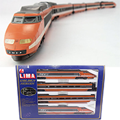 Lima French 4pc Electric Railcar TGV of the SNCF