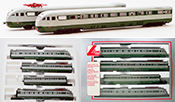 Lima Italian 4pc Electric Passenger Train ETR 233 of the FS