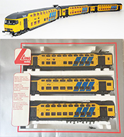 Lima Electric Double Decker Intercity 3 Car Set