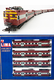 Lima 149746 South African 4pc Electric Passenger Train of the SAR