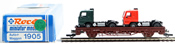 Roco Freight Car with Truck Loads