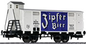 Liliput ZIPFER Beer wagon with brakeman