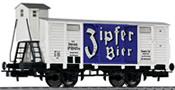 Liliput ZIPFER Beer wagon with brakeman