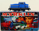 Marklin 3078 DIESEL SWITCH LOCO DHG500