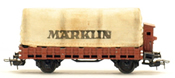 Marklin Canvas Covered Flat Bed Car