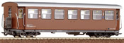 Roco 34004 2nd Class Passenger Car Mariazeller B brown